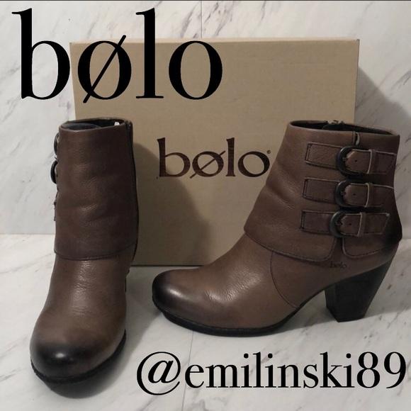 a72b1e8fd76 NIB Bolo by Born Cuffed Ankle Boots